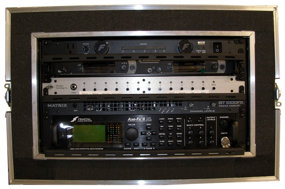Axe-FX Direct Rig with Wireless, Input Seclector, and Power Amp