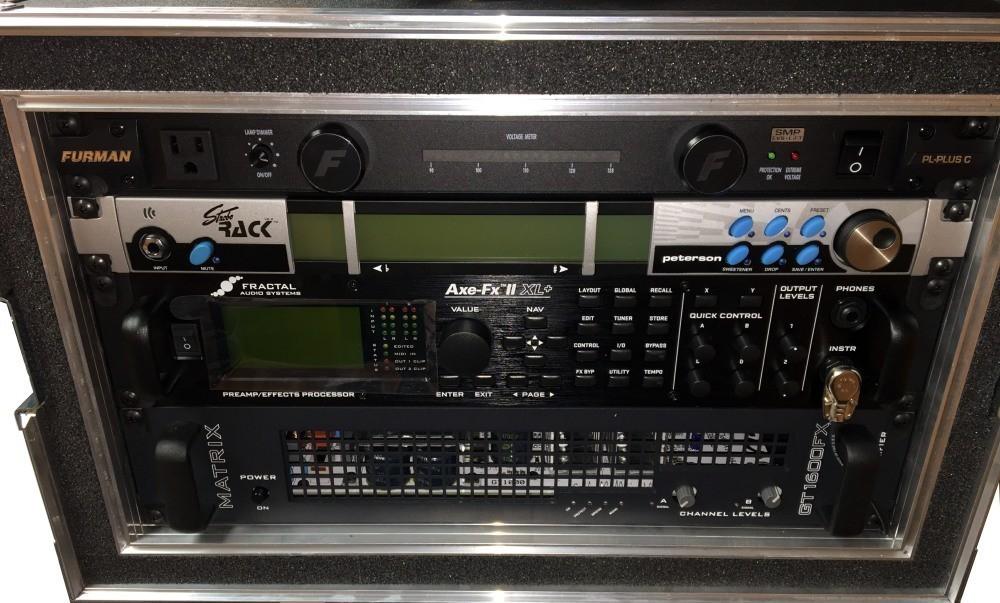 Axe-FX Direct Rig with Matrix PA Front