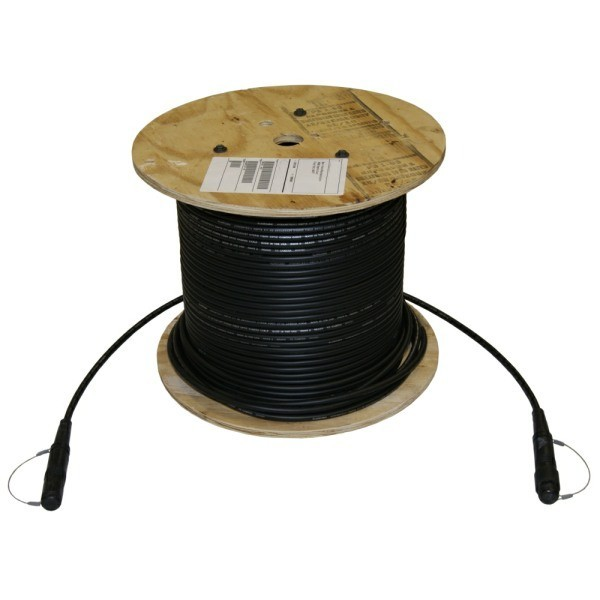 SMPTE Camera Cable on Wooden Reel