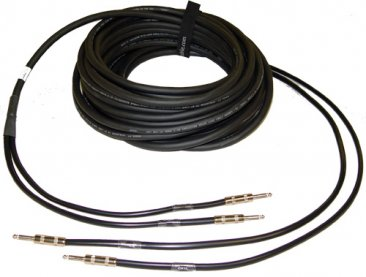 "2 Channel Mono 1/4"" Speaker Cable"